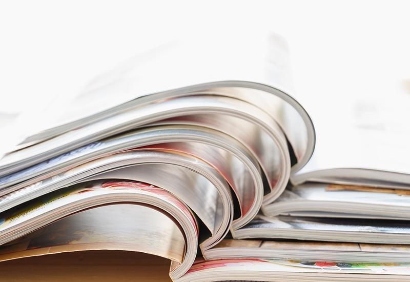 Layout riviste di settore